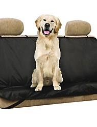 nuevo coche tirol respaldo a prueba de agua cubierta de asiento para mascotas perro gato viajes protector de alfombra de seguridad trasero negro