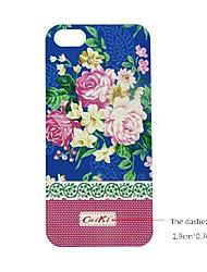 caso de telefone personalizado - design de crisântemo outono para iphone 5