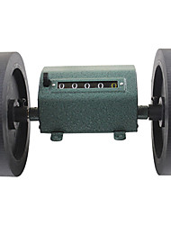 5 chiffres décompte de roulement compteur mécanique avec bouton de réinitialisation 1: 3 pour machines textiles Z96F