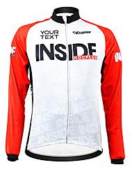 Jerseyes/Personalizada ( Blanco/Rojo/NegroTranspirable/Cremallera impermeable/Listo para vestir/Resistente al Viento/Mantiene
