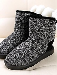 Women's Shoes Snow Boots Low Heel Ankle Boots with Panda Pattern More Colors Available