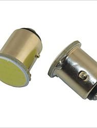 lampes de voiture de lumière blanche carking ™ 1157 1.7W 12 LED COB (x2)