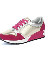 Chaussures femme ( Rose/Pourpre/Rouge ) - Cuir - Marche