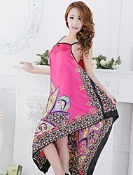 Women's Sexy Printing Babydoll&Gown