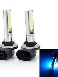 Marsing alta potencia 881 10w 7500k 900lm 2-cob llevado hielo azul cabeza del coche luz / luces antiniebla (12 ~ 24v / 2 pcs)