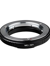 md-ma adaptador de lente minolta md / mc montagem da lente para sony minolta ma alpha a77 a65 a55 a35 a300 anel adaptador sem vidro