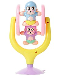 bébé de haute qualité ours mignon avec ventouse hochets jouets anneau de cloche