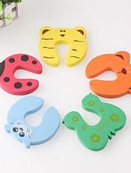 5 pezzi guardia della porta bambino jammer dito protettore tappo
