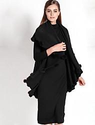 Women's Coat Cape Loose Poncho Long Jacket