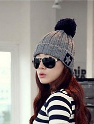 Women Knitwear Ski Hat , Cute Winter