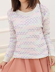 Women's Rainbow Stripes Vintage Sweater(More Colors)