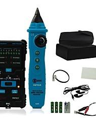 bside fwt01 multifuncional testador de cabo de rede de mão lan cabo ethernet linha telefônica metros rastreador localizador tester