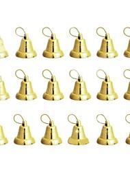 arbre de noël cloches décoratives - or 18 pcs