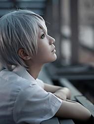 Beelzebub Takayuki Furuichi Silver Grey Cosplay Wig