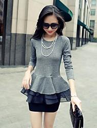 шею длинными рукавами, свитер женщин