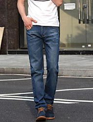 Men's Straight Denim Trousers  Pants