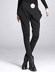 Women's Black Skinny/Loose Pants , Casual