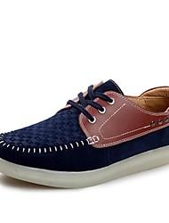 Scarpe da uomo Casual Di pelle Sneakers alla moda Blu/Rosso