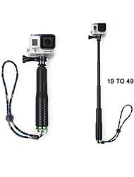 extensible monopode pôle pour les caméras GoPro (vert)