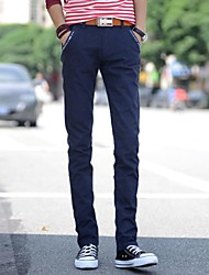 Men's Casual Fashion Straight Slim Linen Pants