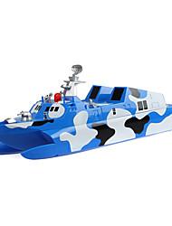 2.4G RC Patrol Ship with light & Sound Children Toys