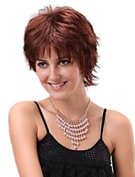 Women Short Curly Tilt Synthetic Side Bang Wigs