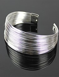 925 Silver Coil Bracelet (XL)