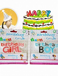 Boys and Girls Creative Birthday's Candles
