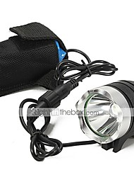 Lights LED Flashlights/Torch / Handheld Flashlights/Torch LED 2200 Lumens 3 Mode Cree XM-L U2 18650 Waterproof / Rechargeable