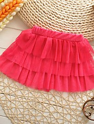 Girl's Lovely Tutu Cake Skirts Colorful Dance Party Princess Skirt