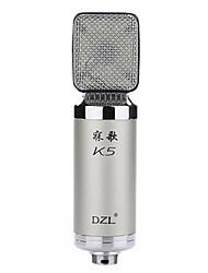 DZL K5 bedrade condensator microfoon geluidsopname-apparatuur voor computers en karaoke