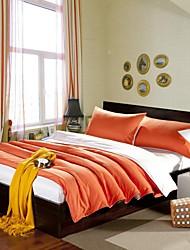 Massiv Baumwolle 3 Stück Bettbezug-Sets