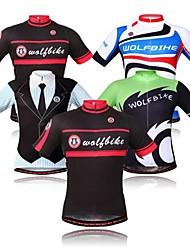 oeste biking® bicicleta de montaña top ropa de manga corta de bicicletas ciclo Jersey para los hombres