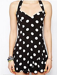 Osim Women's Cute Polka Dots Dress