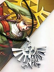 Bijoux Inspiré par The Legend of Zelda Cosplay Anime/Jeux Vidéo Accessoires de Cosplay Colliers Argenté Alliage Masculin