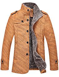 moda nuova giacca in pelle da uomo dg9003 di