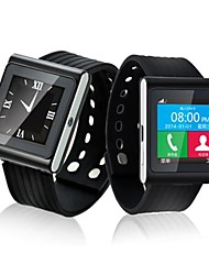 "beboncool d6 smart phone orologio gsm with1.54 ""schermo, Bluetooth, GPS, monitor di sonno, pedometro"