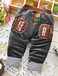 Boy's Cotton Pants,Winter / Fall Patchwork