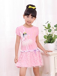Girl's Cotton Dress , Summer