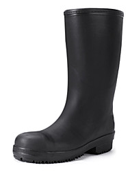 Men's Shoes Outdoor Rubber Boots Black