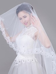 The Biggest Day Wedding Veil with One Layers Waltz Veils
