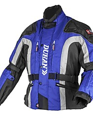 DUHAN® Men's Antifriction and Windproof Motorcycle Cruising Jacket with Detachable Cotton Lining