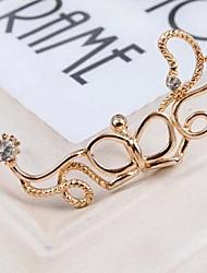 z&estilo coreano x® ¢ o del oído del bowknot de la cinta (1 PC, 2 opciones de los colores: oro, plata)