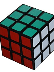 5,7 centímetros ensaísta três ordem pvc magia negra cube (cor aleatória)