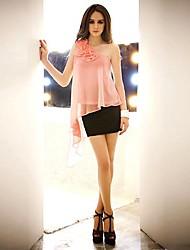 Women's Pink/Yellow/Black/Green T-shirt Sleeveless