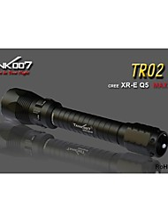 LED Flashlights/Torch / Handheld Flashlights/Torch LED 5 Mode 235 LumensWaterproof / Rechargeable / Impact Resistant / Nonslip grip /