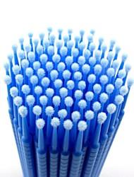100pcs 0,25 cil recyclable en œuvre faux cils nettoyage bâton essuie-glace / fard à paupières dissolvant