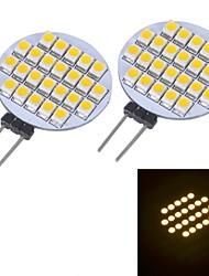 Luces LED de Doble Pin G4 24 SMD 3528 144 LM Blanco Cálido / Blanco Fresco DC 12 V