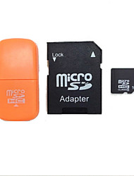 16GB Class 10 MicroSDHC TF Flash Memory Card with SD SDHC Adapter and USB Card Reader
