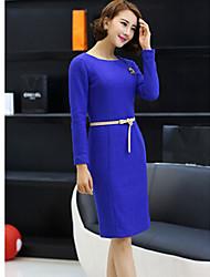 Cadenas TS-Simplicidad decorativos de vestir de manga larga